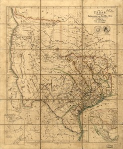 old-map-of-texas