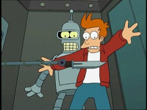 Fry suicide booth