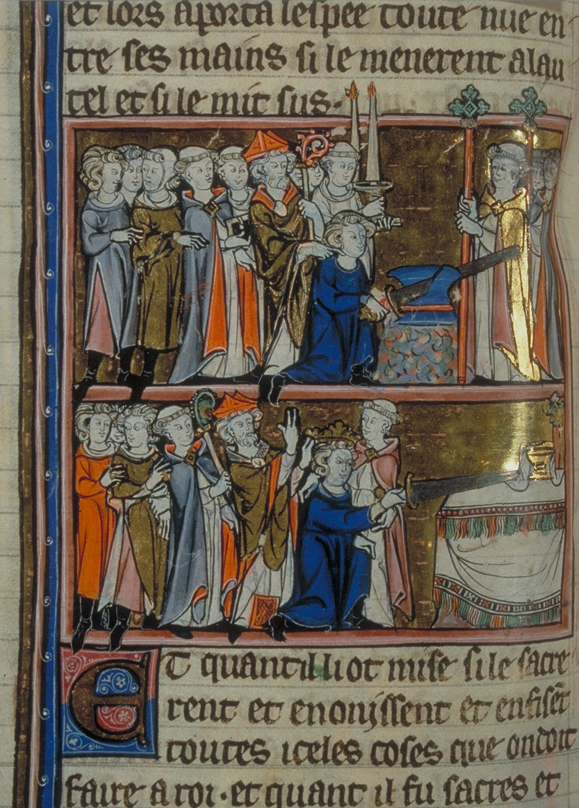 Coronation of Arthur