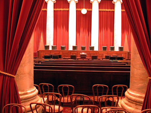 empty supreme court